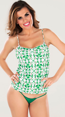 Shamrock Pajama Top