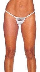 Lycra Thong with Honeycomb Front