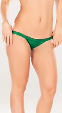 Metallic Green Exposed Side Panty