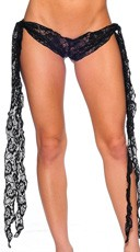 Tie Side Lace Shorts