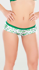 Seductive Shamrock Shorts