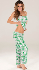 Shamrock Pajama Set