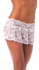 Lace Flirty Skirt