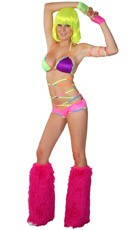 Strapped Up In Neon Set