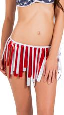 Patriotic Fringe Skirt