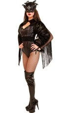 Deluxe Midnight Crow Costume
