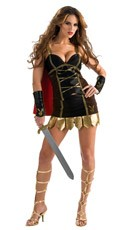 Playboy Warrior Costume