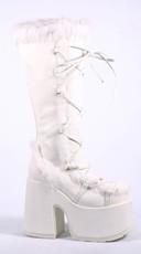 Furry Snow Warrior Platform Boots