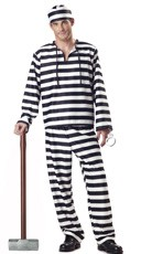 Men's Convict Costume