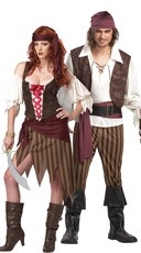 Rogue Treasure Hunters Couples Costume
