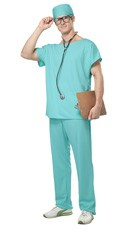 Doctor Scrubs Costume