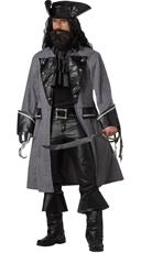 Men's Blackbeard Costume