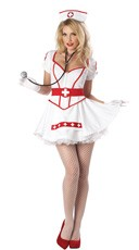 Plus Size Heart Breaker Nurse Costume