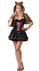 Plus Size Frisky Kitty Costume