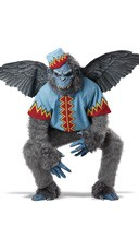 Men's Evil Winged Monkey Costume