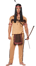 Men's Native American Brave Costume