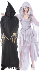 Grim Reaper Couple Costume
