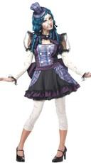 Shattered Porcelain Doll Costume