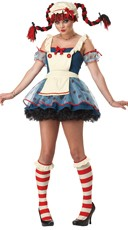 Mischievous Rag Doll Costume