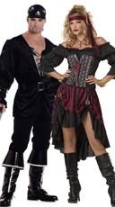 High Seas Buccaneers Couples Costume