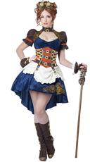Plus Size Steampunk Fantasy Costume