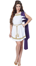 Sexy Grecian Toga Costume