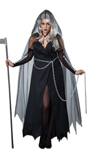Plus Size Lady Reaper Costume