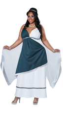 Plus Size Roman Beauty Costume