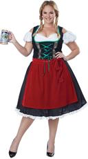 Plus Size Oktoberfest Fraulein Costume