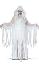 Plus Size Ghostly Spirit Costume