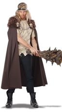 Men's Warlord Cape Costume