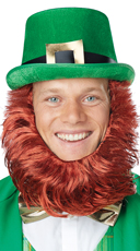 Leprechaun Hat and Beard