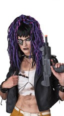 Apocalypse Dreads Purple Wig