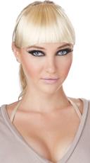 Blonde Clip-On Bangs