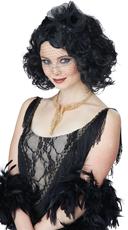 Black Short Curly Wig