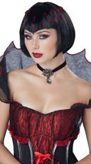 Black Vampire Wig
