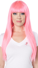 Pink Popstar Wig