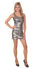 Shimmer Tier Dress