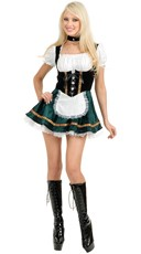 Tall Stout Beer Girl Costume
