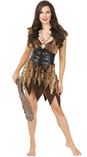 Captivating Cave Woman Costume