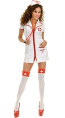 Naughty Nurse Betty Costume
