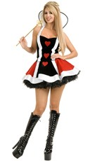 Naughty Queen of Hearts Costume