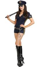 Sexy Highway Patrol Cop Costume