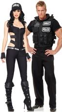 SWAT Team Leaders Couples Costume