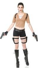 Lara Tomb Fighter Costume