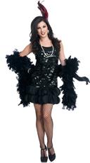 Midnight Jazz Flapper Costume