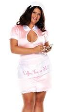 Plus Size Waitress Costume
