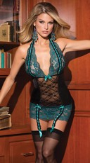Totally Turquoise Chemise