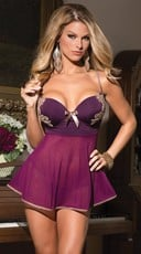 Plumtastic Babydoll and G-String