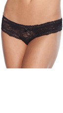 Cheeky Lace Crotchless Panty